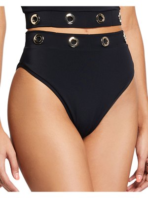 OYE Swimwear Sansa High-Waist High-Leg Bikini Bottom