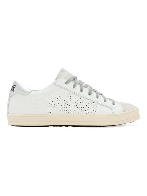 P448 20mm john leather & suede sneakers