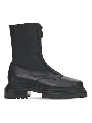 Paciotti 60mm leather combat boots