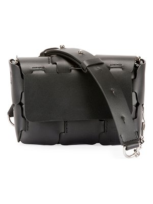 Paco Rabanne 16#01 Mini Sleek Calfskin Shoulder Bag