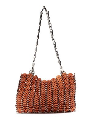 Paco Rabanne 1969 chainmail wooden shoulder bag