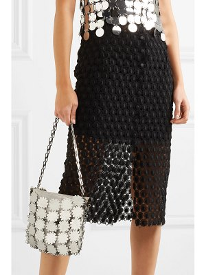 Paco Rabanne blossom 1969 chainmail and canvas shoulder bag