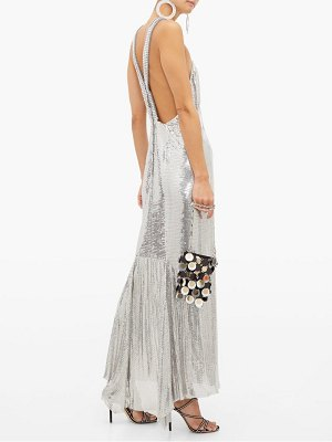 Paco Rabanne chainmail mesh gown