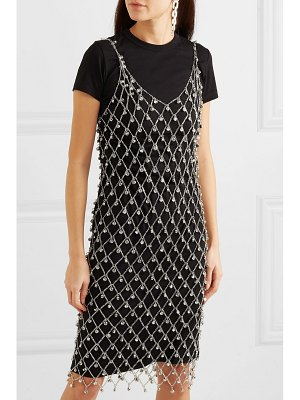 Paco Rabanne embellished chain midi dress