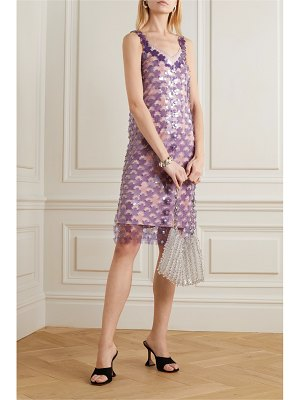 Paco Rabanne embellished chainmail dress