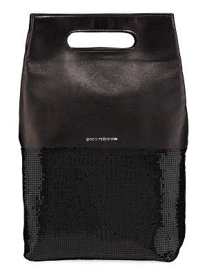 Paco Rabanne Folding Sequined Clutch Bag