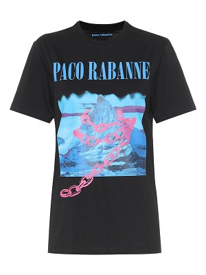 Paco Rabanne logo cotton t-shirt