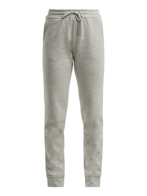 Paco Rabanne Logo Embroidered Cotton Track Pants