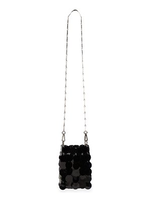 Paco Rabanne mini 1969 sparkle crossbody bag