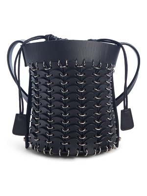 Paco Rabanne mini calfskin bucket bag