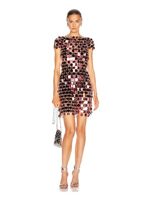 Paco Rabanne sequin mini dress