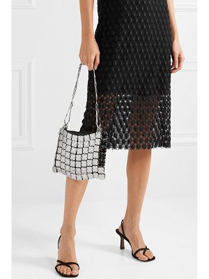 Paco Rabanne square 1969 chainmail and leather shoulder bag