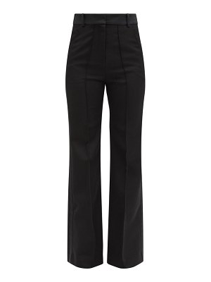 Paco Rabanne tailored grain de poudre-wool trousers