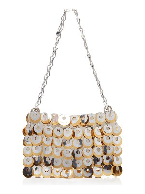 Paco Rabanne two-tone chainmail shoulder bag