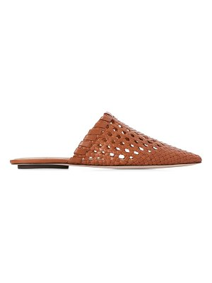 PAIGE alana woven leather mules