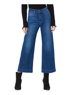 PAIGE anessa high waist crop wide leg jeans