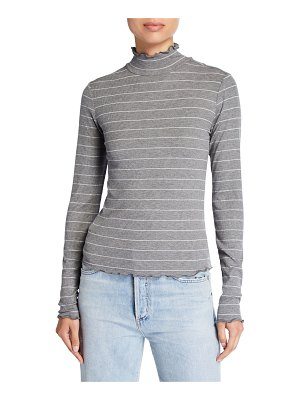 PAIGE Cadence Shimmer Turtleneck Sweater