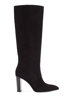 PAIGE carmen tall suede boots