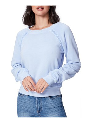 PAIGE daytona braid trim sweatshirt