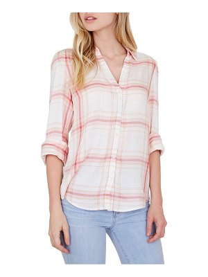 PAIGE enid plaid shirt