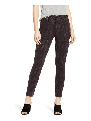 PAIGE hoxton high waist ankle skinny jeans