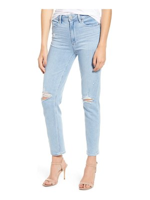 PAIGE hoxton high waist ripped skinny jeans