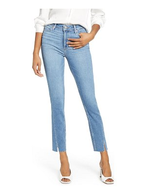 PAIGE hoxton twisted seam high waist ankle skinny jeans