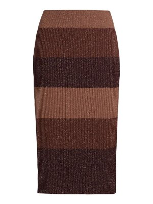 Paige Jeans arken striped knit skirt