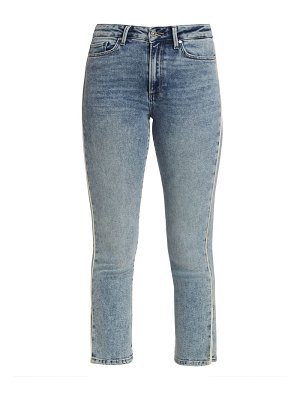 Paige Jeans cindy high-rise piped straight jeans