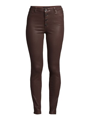 Paige Jeans hoxton coated skinny jeans