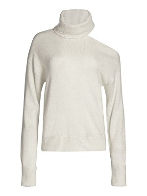 Paige Jeans raundi one-shoulder turtleneck sweater