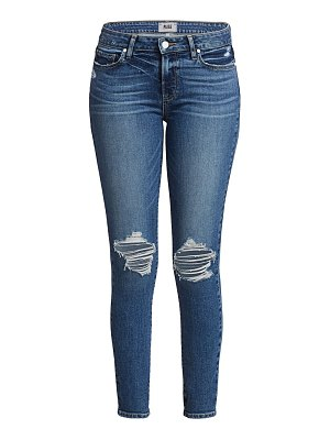 Paige Jeans verdugo mid-rise ankle skinny distressed jeans