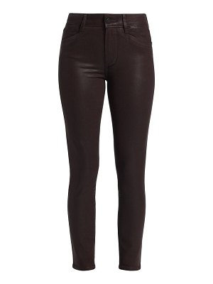 Paige Jeans verdugo waxed ankle skinny jeans