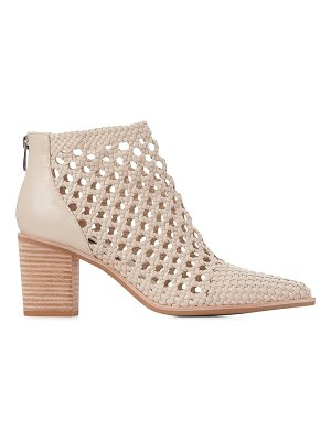 PAIGE lilah woven leather ankle boots