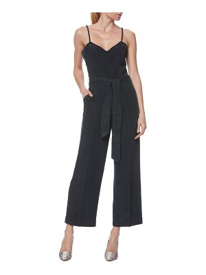 PAIGE marceline denim look jumpsuit