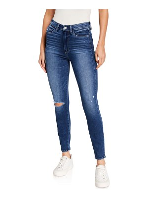 PAIGE Margot High-Rise Ankle Skinny Jeans