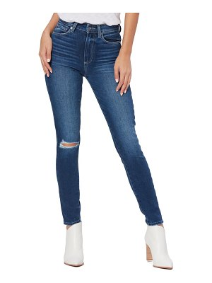 PAIGE margot high waist ankle skinny jeans
