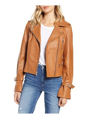 PAIGE rayven leather moto jacket