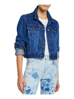 PAIGE Relaxed Vivienne Washed Denim Jacket