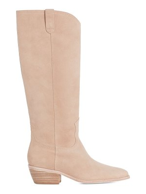 PAIGE ryder tall suede boots