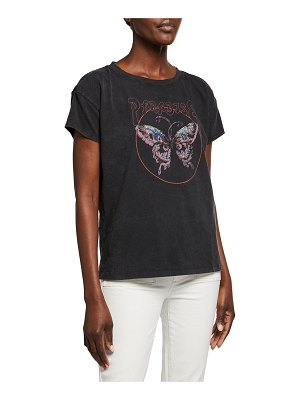 PAIGE Ryo Butterfly Graphic Tee