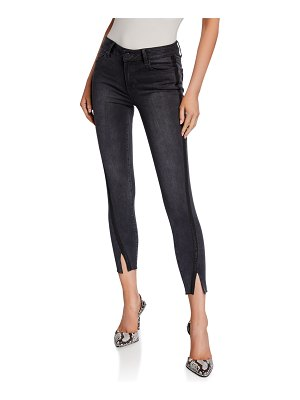 PAIGE Verdugo Ankle Skinny Jeans w/ Twisted Seams