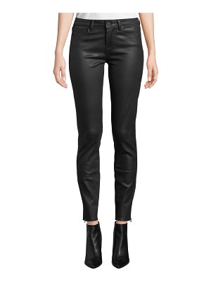 PAIGE Verdugo Coated Ankle Skinny Jeans