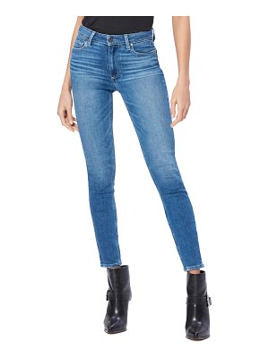 PAIGE vintage hoxton high waist ankle skinny jeans