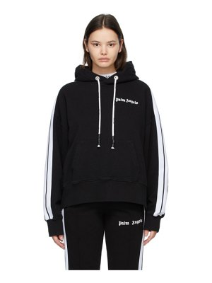 Palm Angels black and white track hoodie