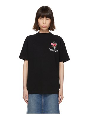 Palm Angels black flowers t-shirt