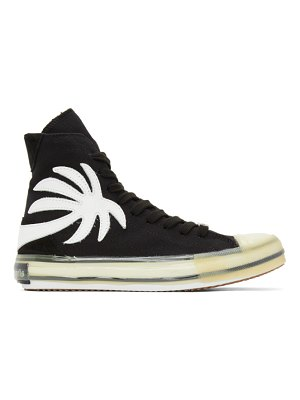 Palm Angels black vulcanized palm sneakers