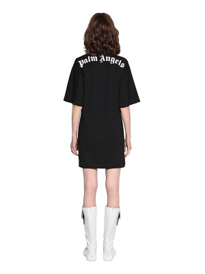 Palm Angels Logo cotton mini dress