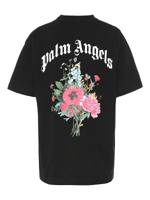 Palm Angels logo cotton t-shirt