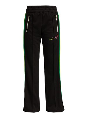 Palm Angels miami logo wide track pants